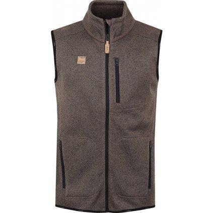 Pánská vesta LOAP Garry hnědá