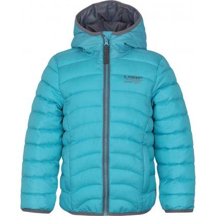 UDATEL dětská zimní bunda modrá