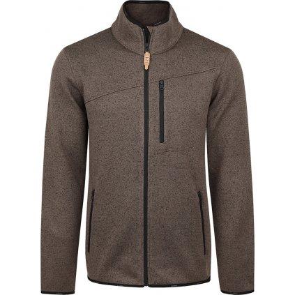 Pánský sportovní svetr LOAP Gylly hnědá