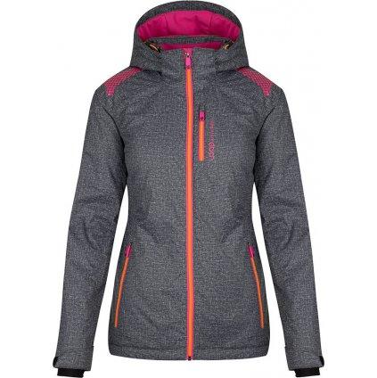 Dámská lyžařská bunda LOAP Faela šedá