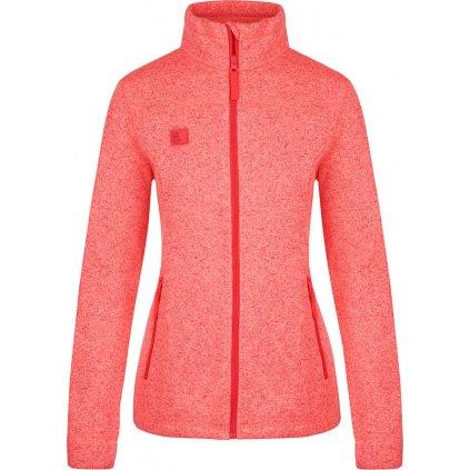 Dámský sportovní svetr LOAP Gosha oranžová