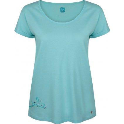 Dámské triko s krátkým rukávem LOAP  Ameri modrá