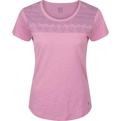 Dámské triko s krátkým rukávem LOAP Besta fialová