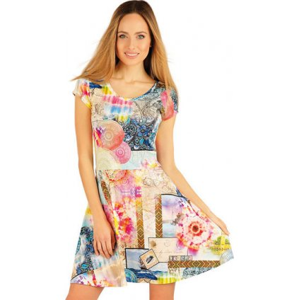 Dámské šaty LITEX s krátkým rukávem