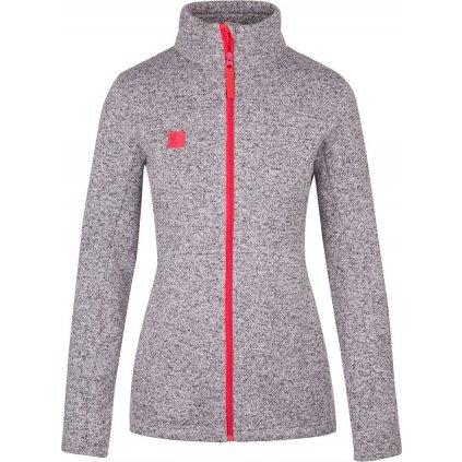 Dámský sportovní svetr LOAP Glorie šedá