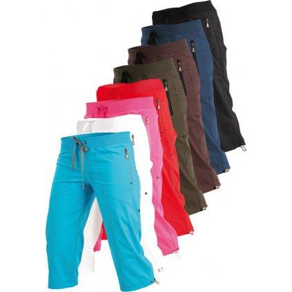Dámské kalhoty LITEX v 3/4 délce bokové
