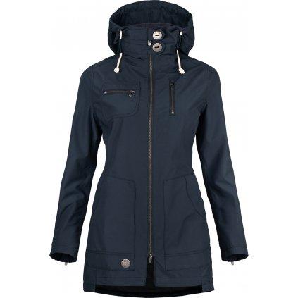 Dámský kabát WOOX Ventus Urban Blueberry Chica