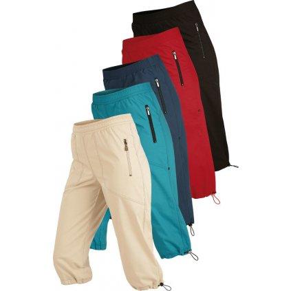 Dámské kalhoty LITEX v 3/4 délce do pasu