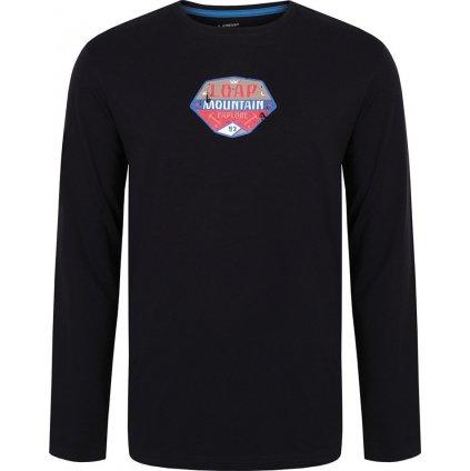 Pánské triko dlouhý rukáv LOAP Aval černá