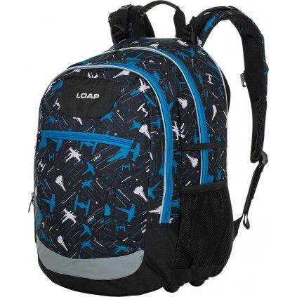 Školní batoh LOAP Ellipse černá