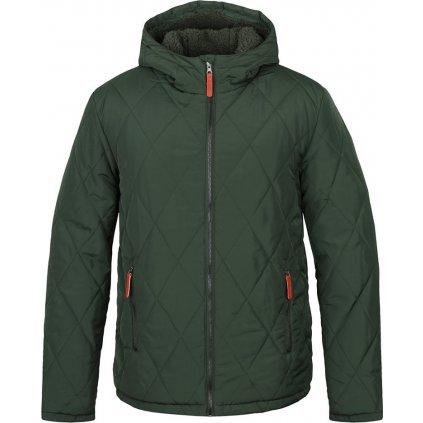 Pánská zimní bunda LOAP do města Totem zelená