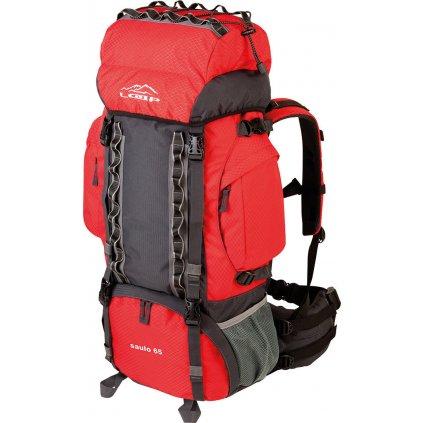 Turistický batoh LOAP Saulo 65 červená