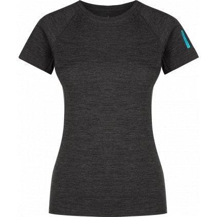 Dámské triko ZAJO Elsa Merino W Tshirt SS černá