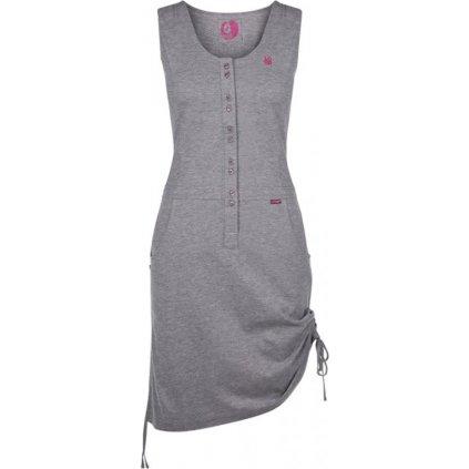 Dámské sportovní šaty LOAP Nela šedá