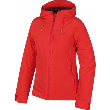 Dámská hardshell bunda HUSKY Narbi L jemná červená