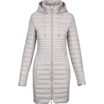 Dámský zimní kabát LOAP Jomana šedá
