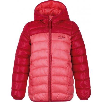 Dětská zimní bunda LOAP Imego oranžová