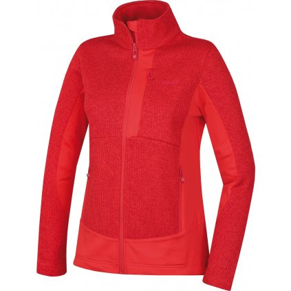 Dámská fleecová bunda HUSKY  Alan L jemná červená
