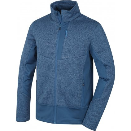 Pánská fleecová bunda HUSKY  Alan M tm. modrá