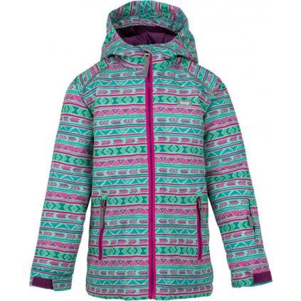 Dětská zimní bunda LOAP Centus  zelená