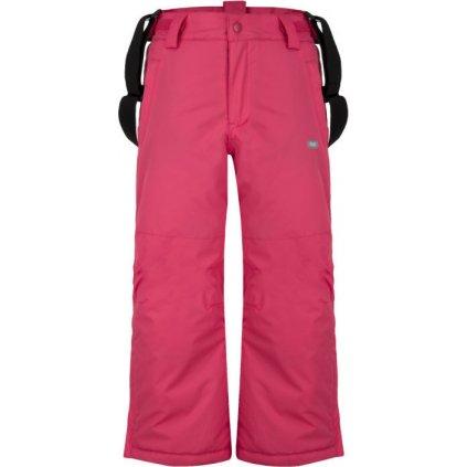 Dětské lyžařské kalhoty LOAP Flops růžová