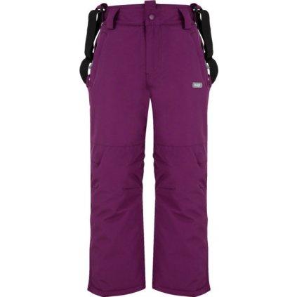 Dětské lyžařské kalhoty LOAP Clipe fialová
