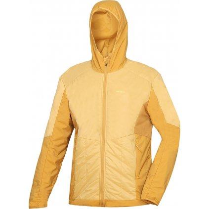 Pánská outdoorová bunda  HUSKY Natie M horčicová