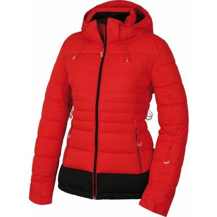 Dámská plněná zimní bunda HUSKY Norel L jemná červená