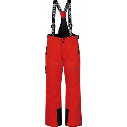 Dětské lyžařské kalhoty HUSKY  Zeus Kids oranžová