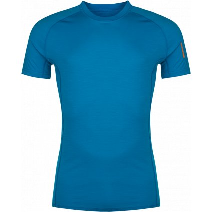 Pánské tričko ZAJO Bjorn Merino Tshirt SS modrá