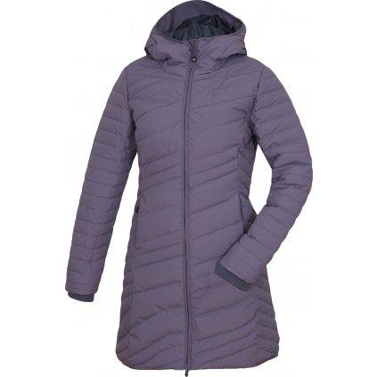 Dámský péřový kabátek HUSKY Daili šedofialová