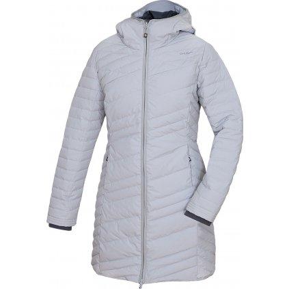 Dámský péřový kabátek HUSKY Daili sv. šedá