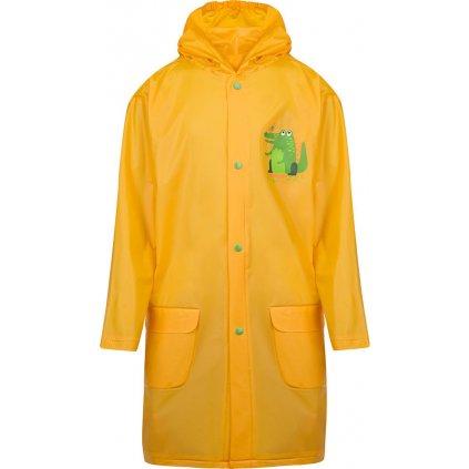Dětská pláštěnka LOAP žlutá XANTOS