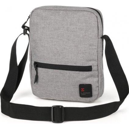 Taška přes rameno LOAP Focuse šedá