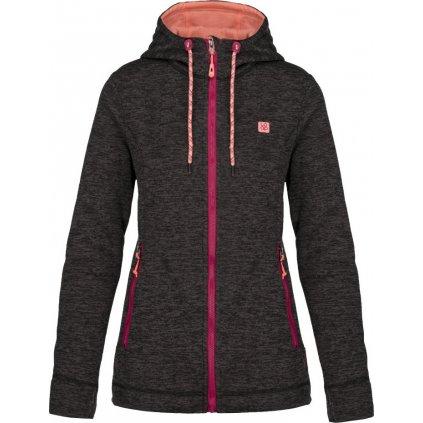 Dámský sportovní svetr/kapuce LOAP Galyn černá