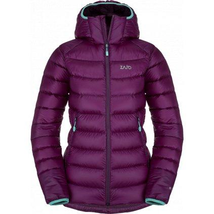 Dámská zimní bunda ZAJO Valbella W Jkt fialová