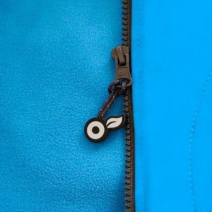 Dětská softshellová bunda s fleecem UNUO autíčka tyrkysová ( NEW Unuo softshell jacket printed)