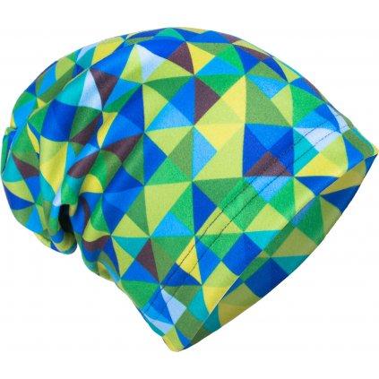 Dětská fleecová čepice UNUO Triangl klučičí