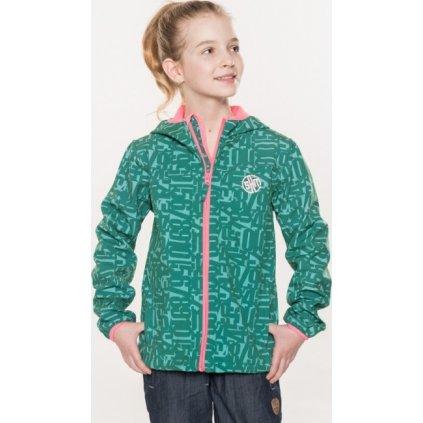 Dětská bunda SAM 73 zelená