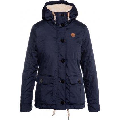 Dámský podzimní kabát SAM 73 modrá tmavá