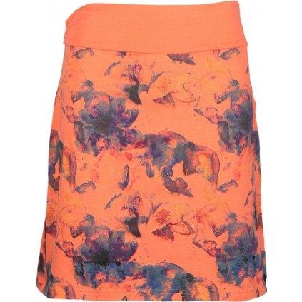 Dámská sukně SAM 73  oranžová