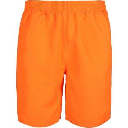 Pánské koupací šortky SAM 73  oranžová neon