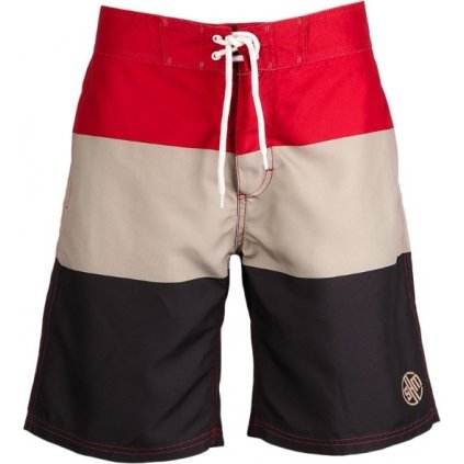Pánské šortky SAM 73 červená tmavá