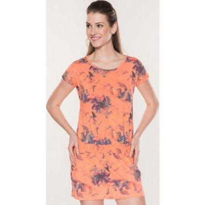 Dámské šaty SAM 73 oranžová