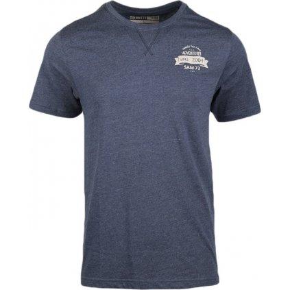 Pánské triko SAM 73 tmavě modrá