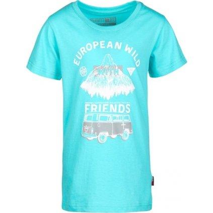 Chlapecké triko SAM 73 modrá světlá