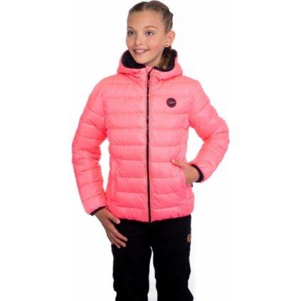 Dívčí bunda SAM 73 růžová