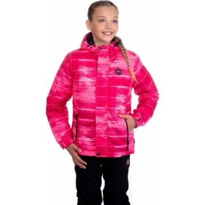 Dívčí zimní bunda SAM 73 růžová