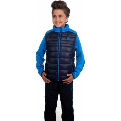 Chlapecká vesta SAM 73 modrá tmavá