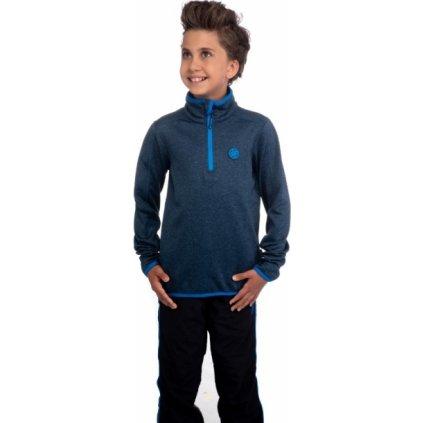 Chlapecká mikina SAM 73 modrá tmavá